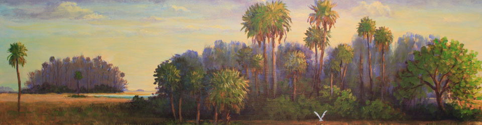Florida and Southern Landscape Prints by Susan Oller